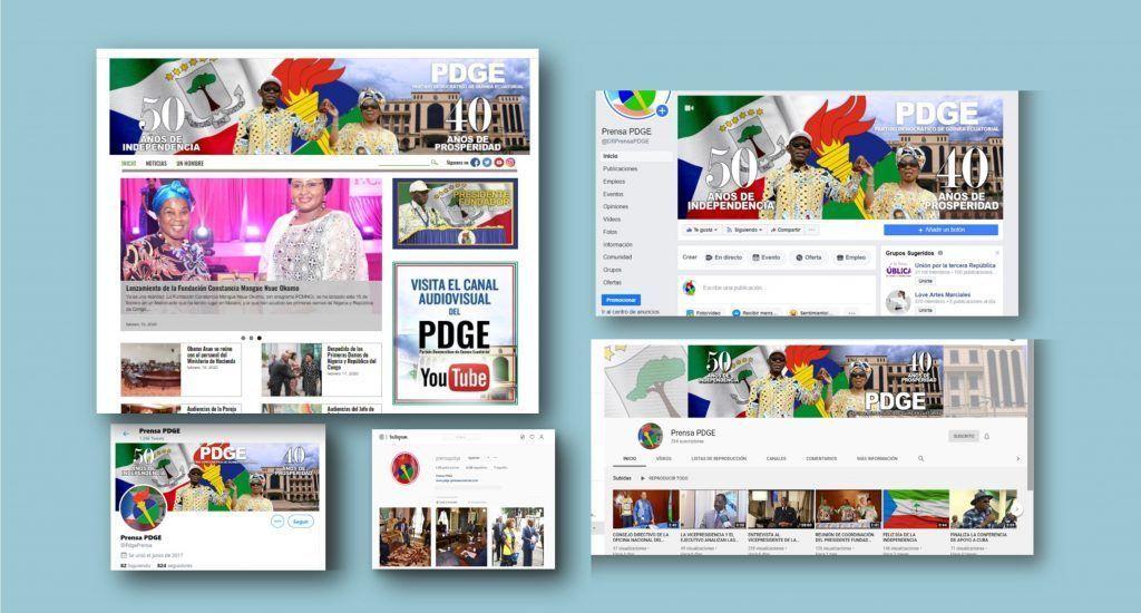 Los medios digitales del PDGE, líderes de la comunicación on line en Guinea Ecuatorial