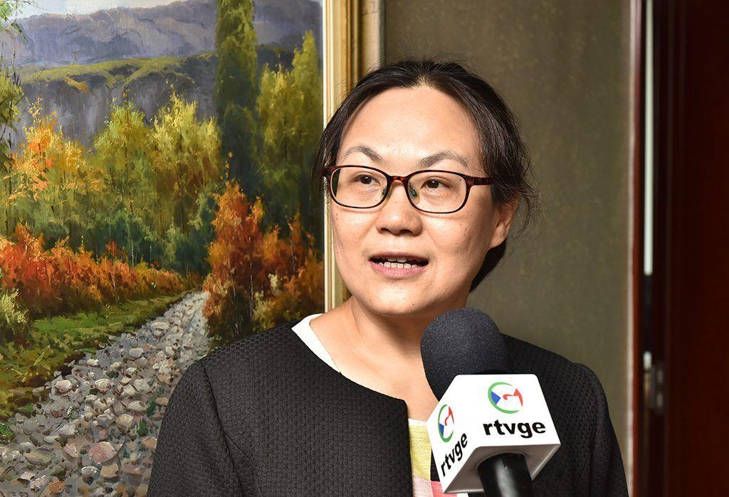 Mensaje de la Embajadora de China a la población de Guinea Ecuatorial