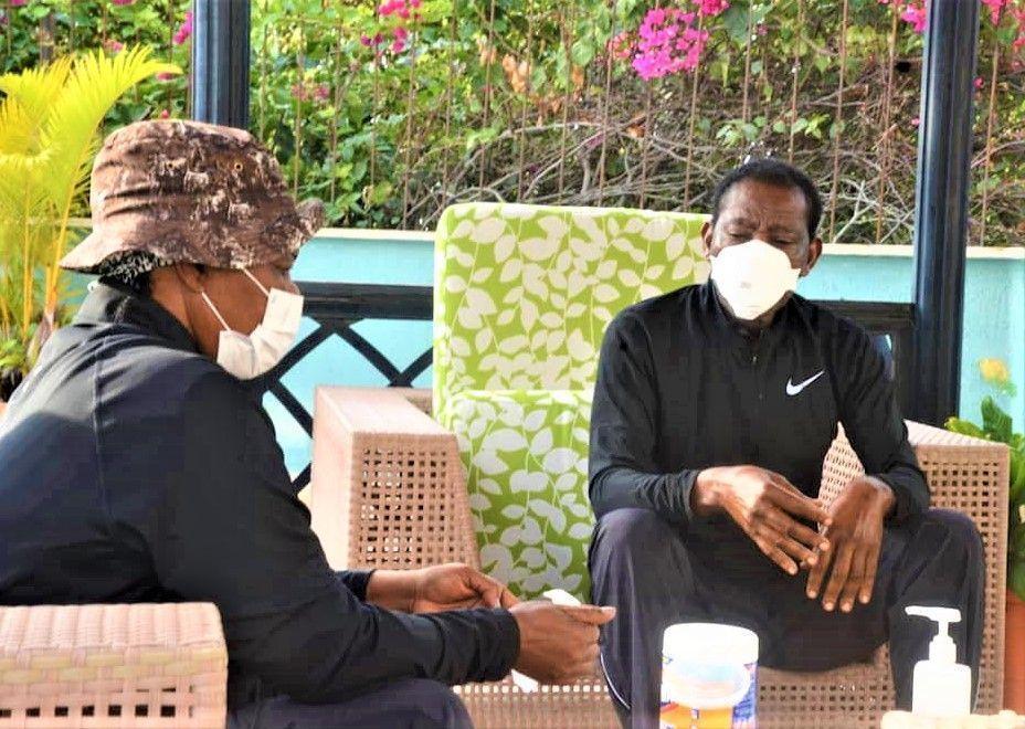 El Jefe de Estado refuerza el mensaje de lucha y prevención del coronavirus