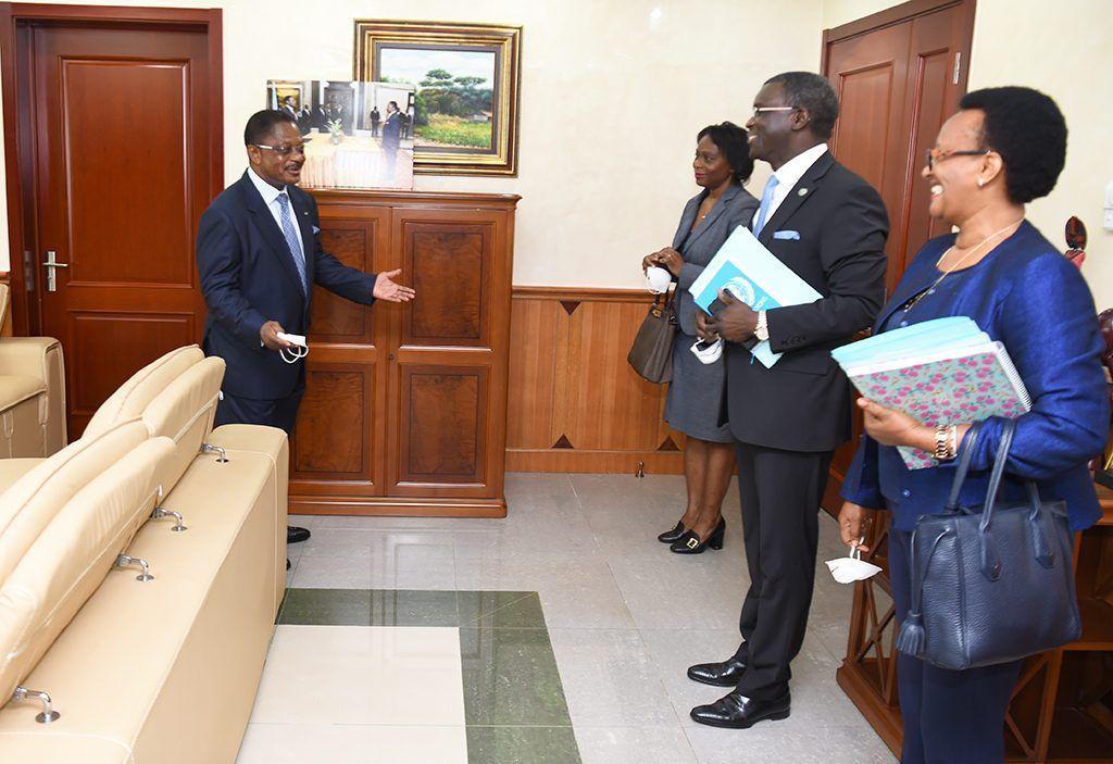 Audiencia del Primer Ministro con los representantes de las Agencias de Naciones Unidas