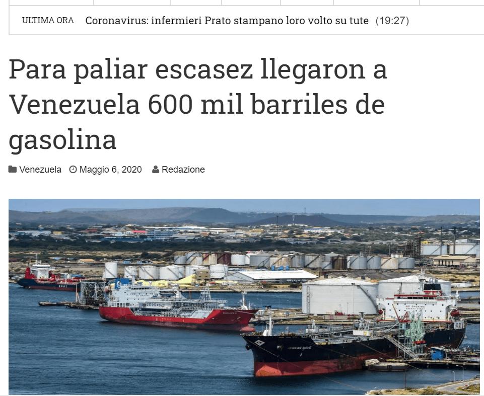 Desmentido del PDGE sobre un supuesto envío de combustible a Venezuela