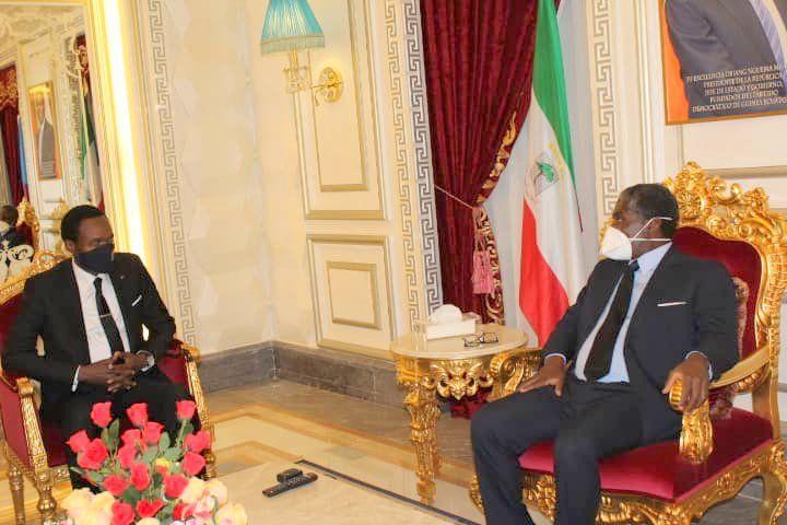 Reunion del vicepresidente con el ministro de Camerún (9)