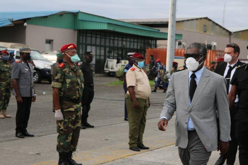Los batallones de la Región Continental reciben al Vicepresidente