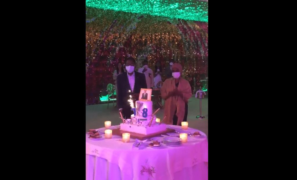 Cumpleaños en familia