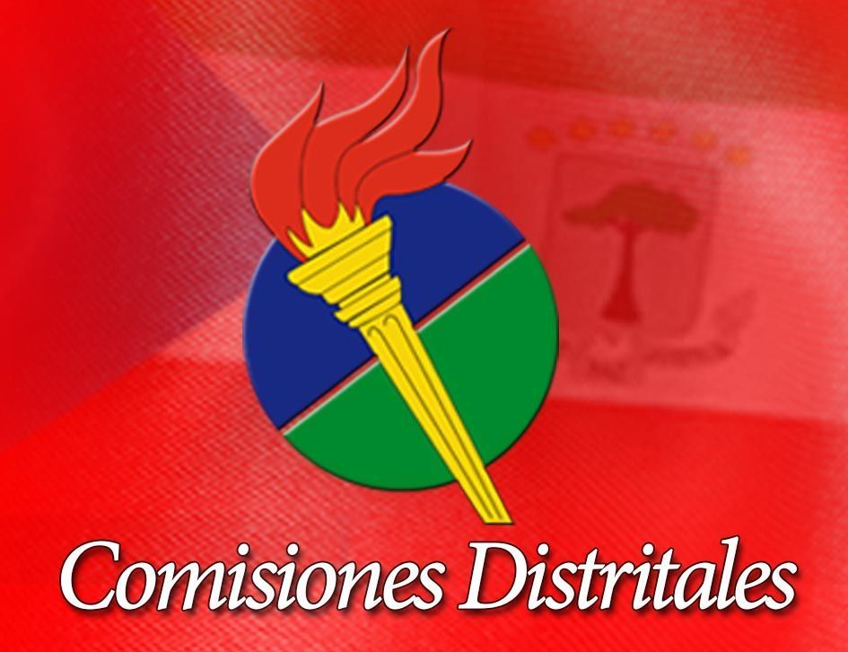 Resolución por la que se actualiza la Directiva de la Comisión Distrital del PDGE de Mongomo