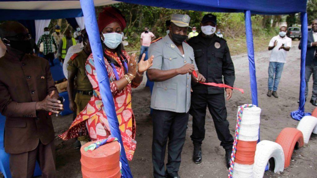 Nuevas instalaciones para la policía en Corisco