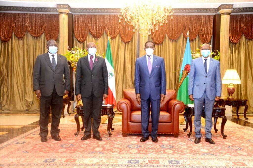 El Jefe de Estado recibe un mensaje de su homólogo de la República de Gabón