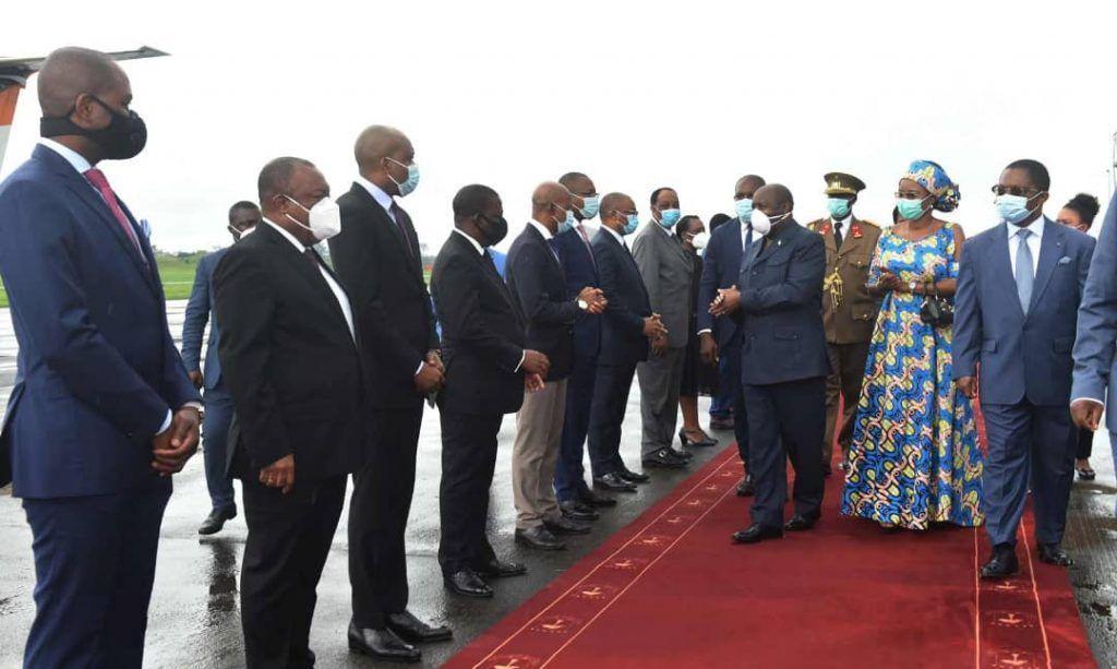 Despedida a la Pareja Presidencial de Burundi