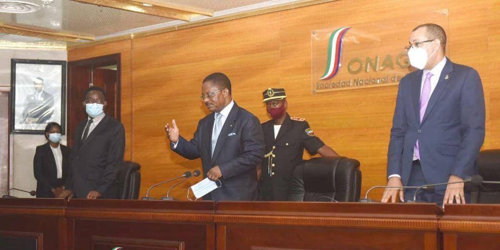 El Primer Ministro en el acto de asunción de cargo del nuevo Director General de SEGESA