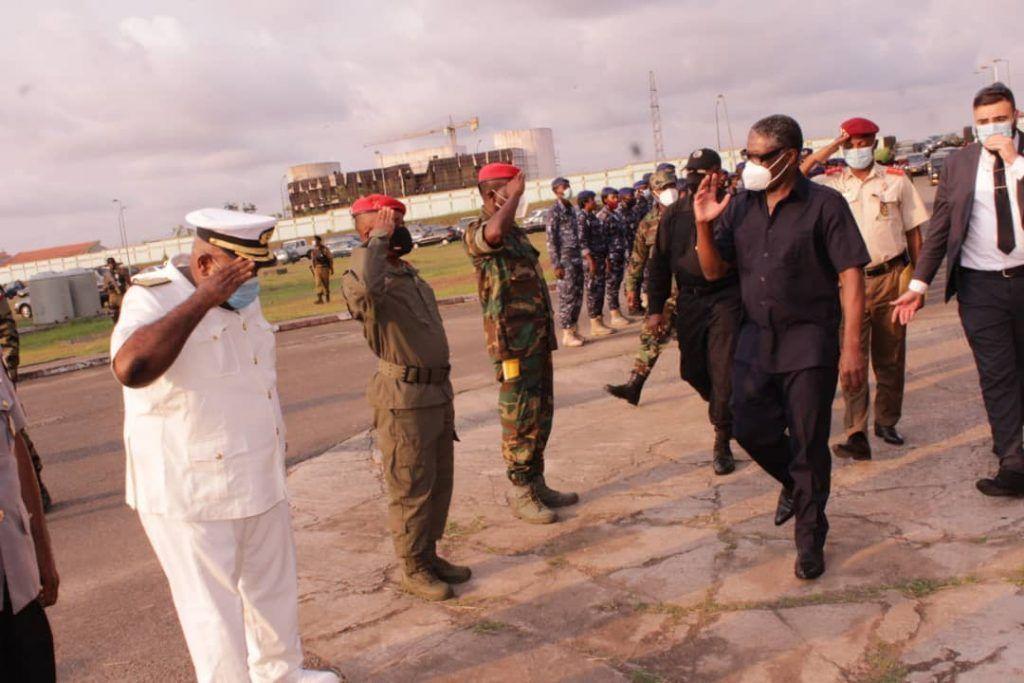 El Vicepresidente de la República insta a las FAS y CSE a endurecer la capacidad operativa de los militares