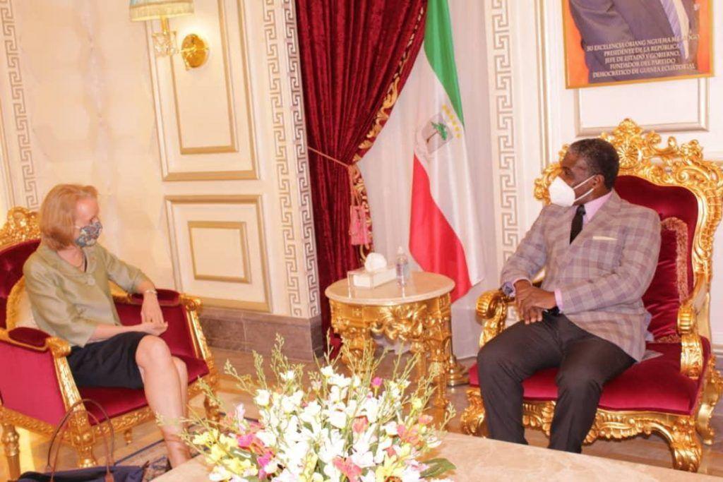 El  Vicepresidente recibe a los embajadores de Estados Unidos e India