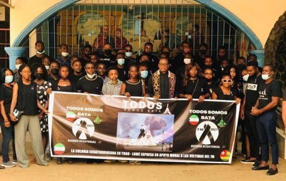 Misa por las víctimas del 7M organizada por la Célula Regional Exterior del PDGE de Togo