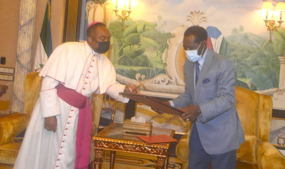 Encuentro entre el Jefe de Estado y el Arzobispo de Malabo
