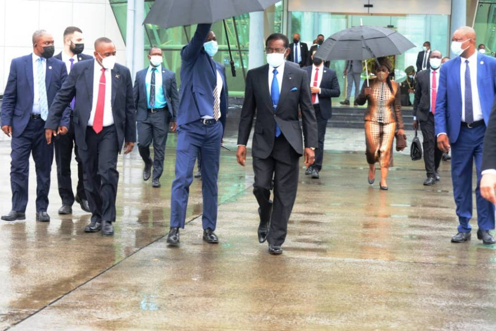 La pareja presidencial viaja a Congo-Brazzaville para la investidura de S.E. Denis Sassou Nguesso