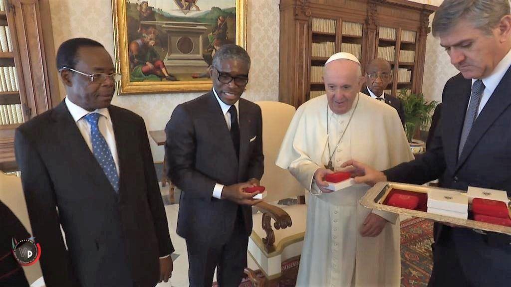 El Gobierno invita al Papa Francisco a visitar Guinea Ecuatorial