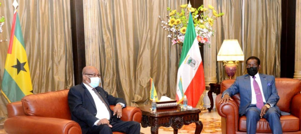 El Jefe de Estado interviene en el Foro Empresarial de la CPLP y recibe a S.E. Evaristo Carvalho