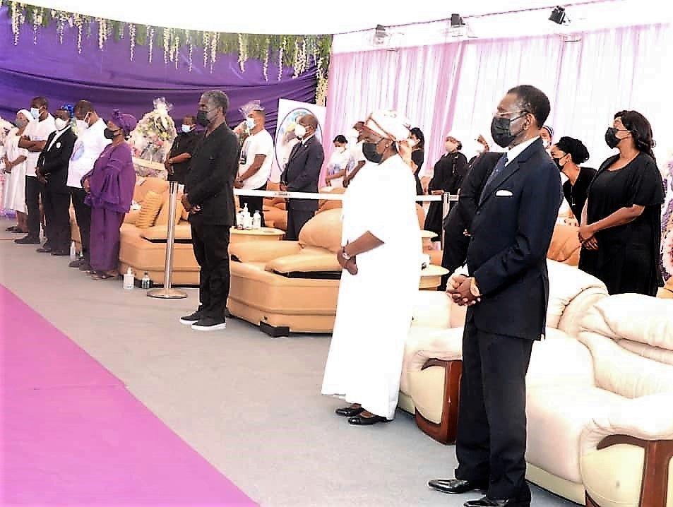 Celebrados los actos fúnebres por la Señora Doña Cándida Okomo Mba Andeme