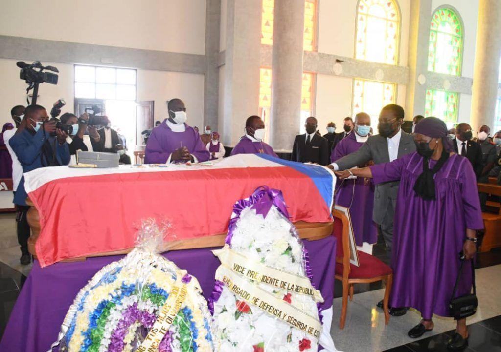 Funeral del General de División Pedro Ndong Obiang