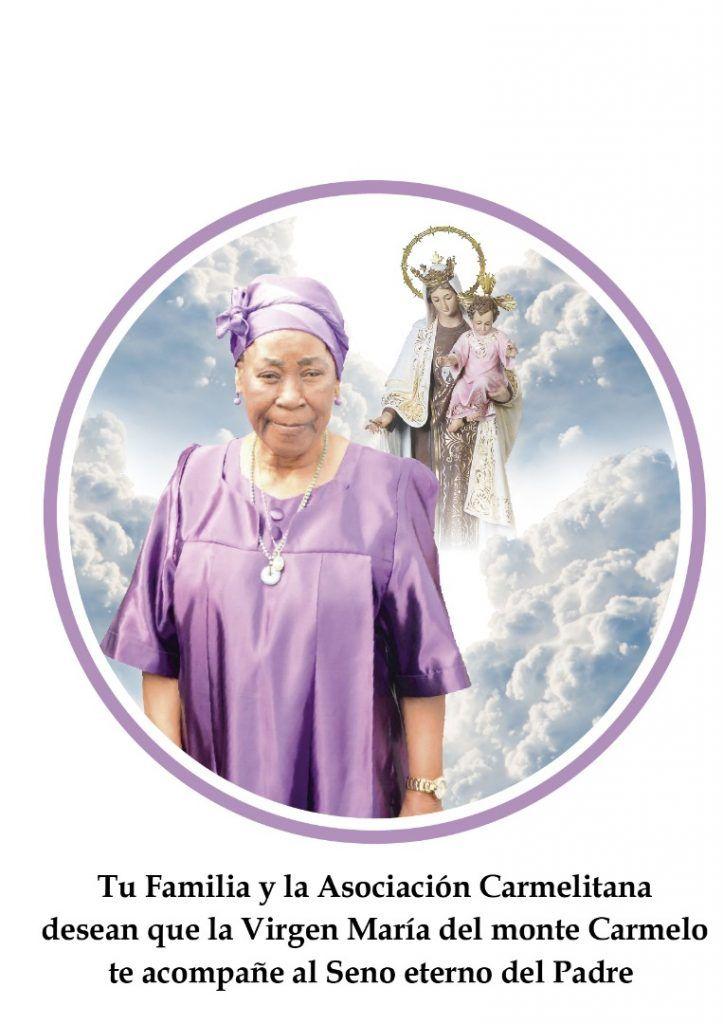 Fallece Doña Cándida Okomo Mba Andem, madre de la Primera Dama
