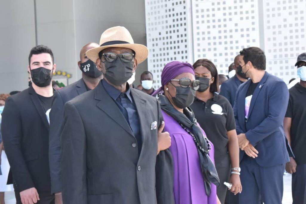 Llegan al País los restos mortales de Doña Cándida Okomo Mba Andeme