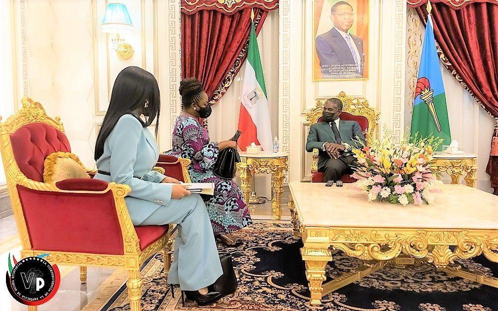 Encuentros del Vicepresidente con las embajadoras de EEUU y Congo
