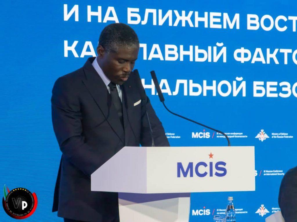 Clausura de la Conferencia de Moscú sobre Seguridad Internacional