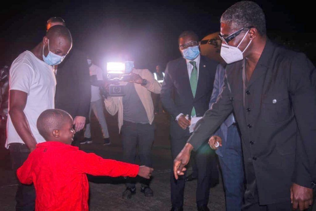 El Gobierno evacúa a siete pacientes víctimas del 7M