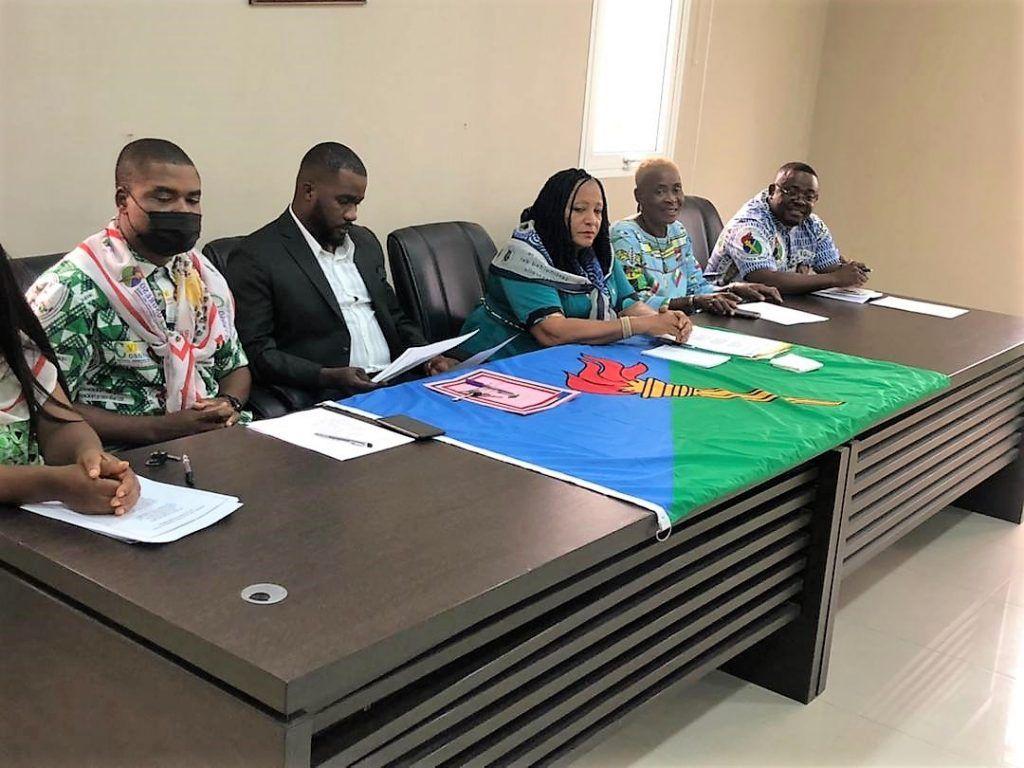 Reunión de la Célula Regional Exterior de PDGE en Nigeria