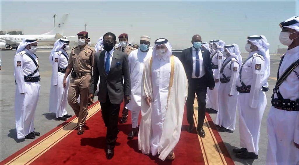 La Pareja Presidencial regresa de Qatar