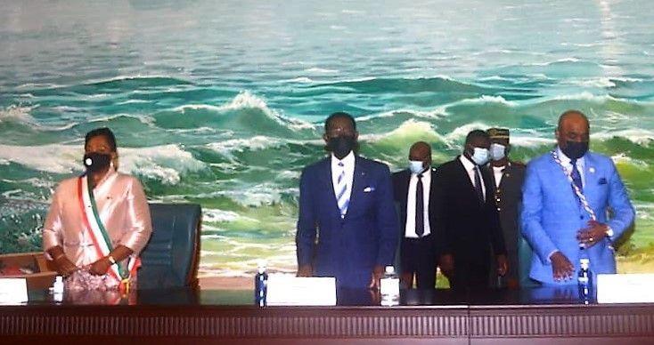 El Jefe de Estado inaugura las sesiones parlamentarias en Bata