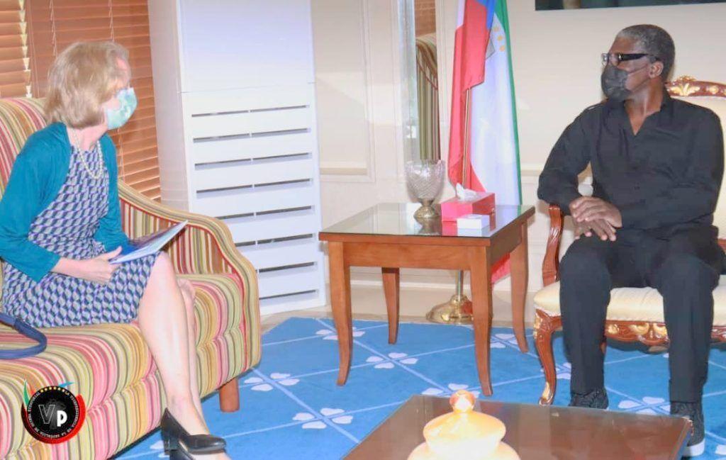 El Vicepresidente recibe a la Embajadora de EE.UU. y al Encargado de Negocios de Turquía