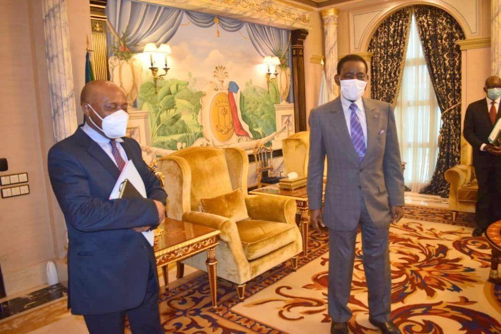 El Jefe de Estado recibe al Secretario General de CPDS y al líder del PSGE