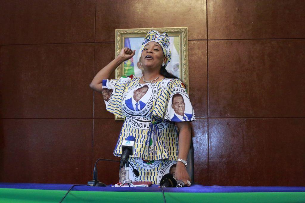 Reunión de la Secretaria General Adjunta Segunda con las militantes y simpatizantes del Partido Democrático de Guinea Ecuatorial