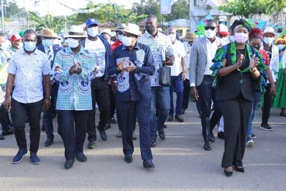 Djibloho y Añisok, nuevas escalas en la Gira del PDGE