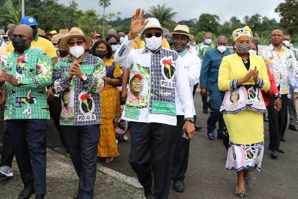 La Oficina Nacional del PDGE inicia una gira nacional en los distritos de Baney y Riaba