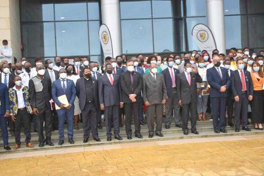 S.E. Obiang Nguema Mbasogo, Doctor Honoris Causa por la Universidad Afroamericana de África Central