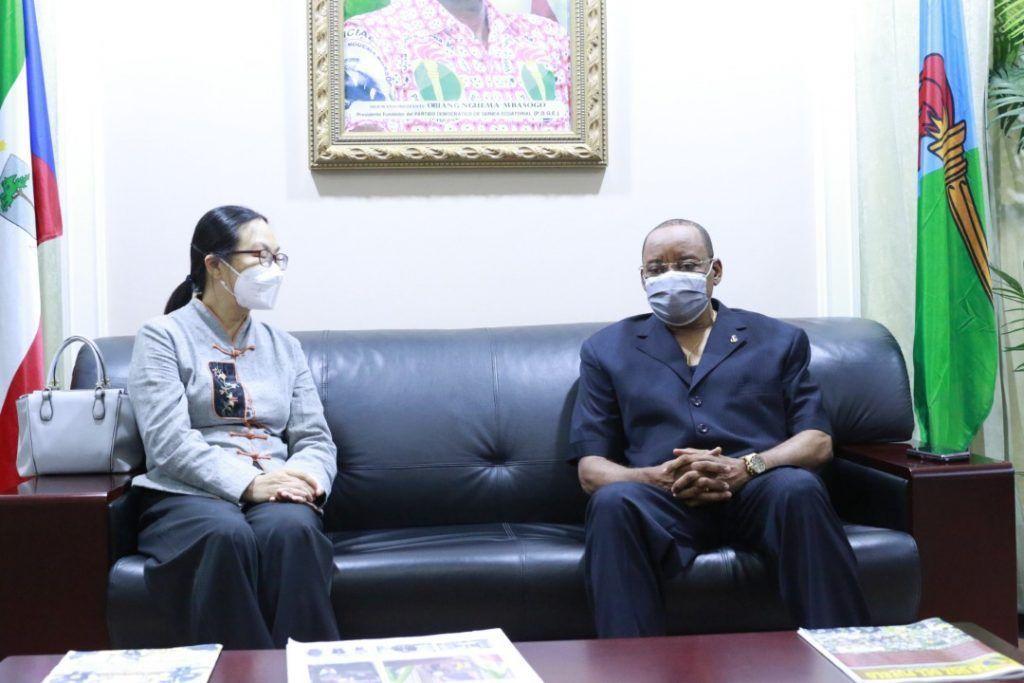 Audiencia del Secretario General con la Embajadora de la República Popular China