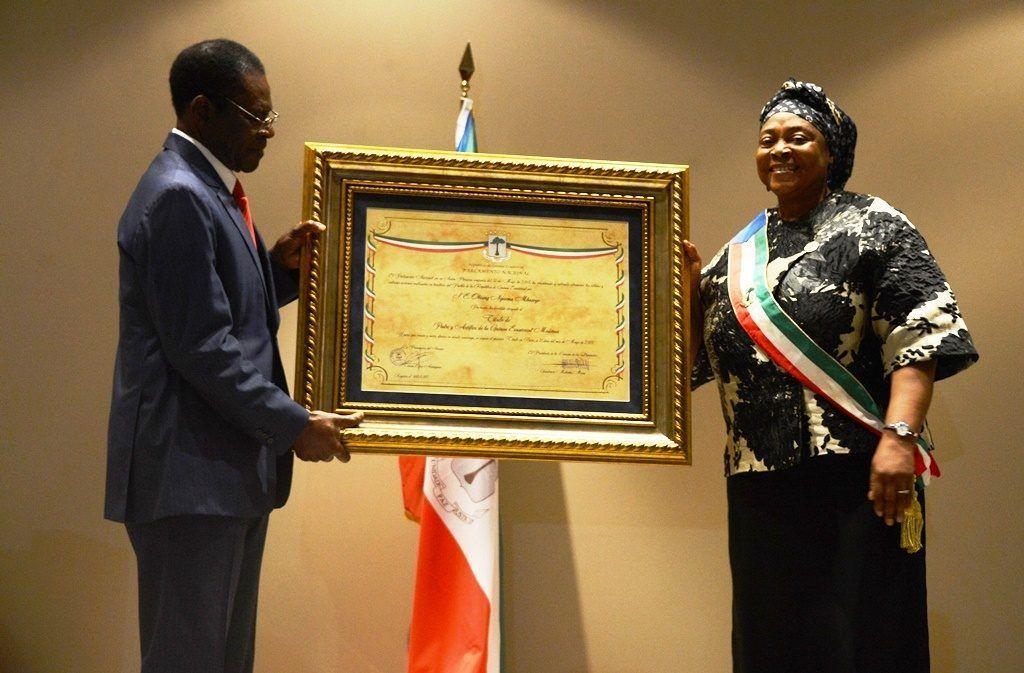 El Parlamento otorga el título de Padre y Artífice de la Guinea Ecuatorial Moderna al Jefe de Estado